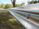 W Beam Guardrail with C-Posts