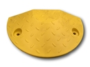 60mm Yellow End Cap - Compliant Speed Hump